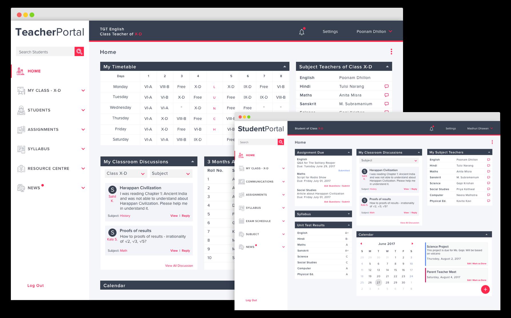 UI UX Agency Dashboard Idea Theorem